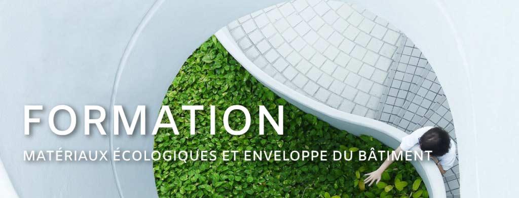 Formation sur les matériaux écologique et l'enveloppe du bâtiment